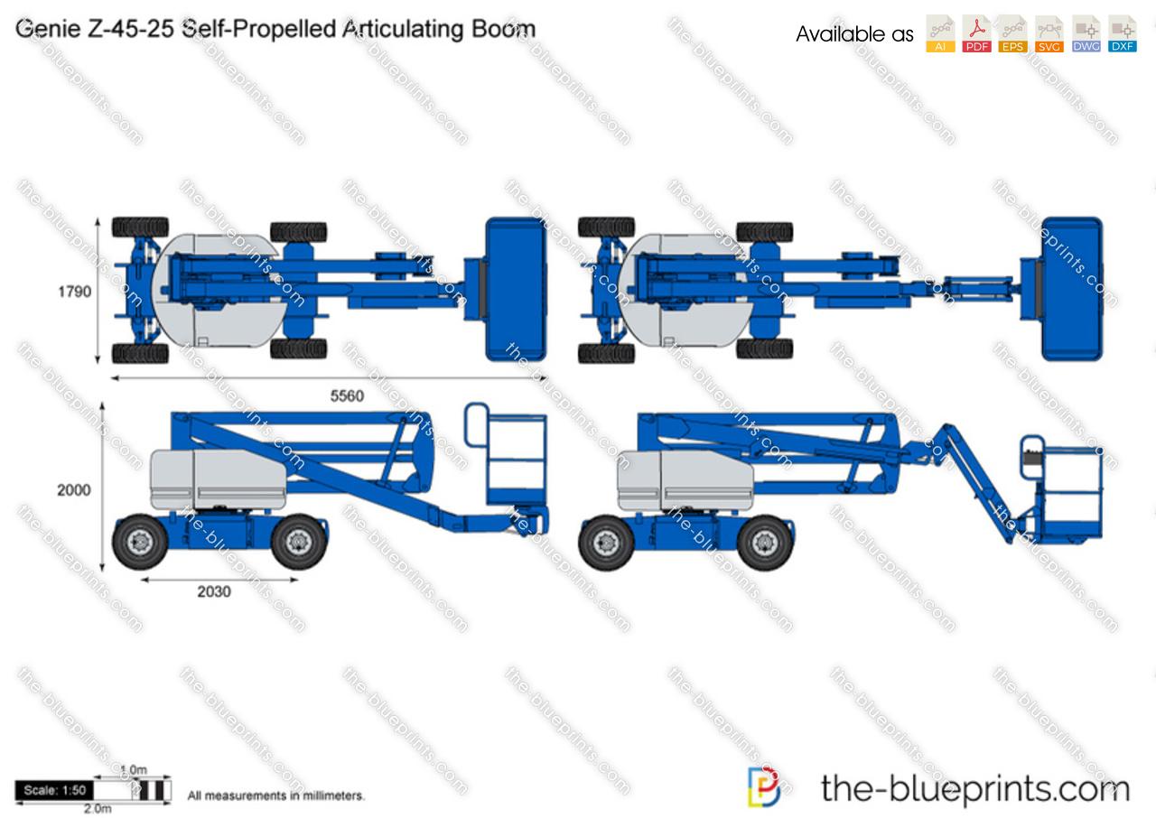 Genie Z-45-25 Self-Propelled Articulating Boom