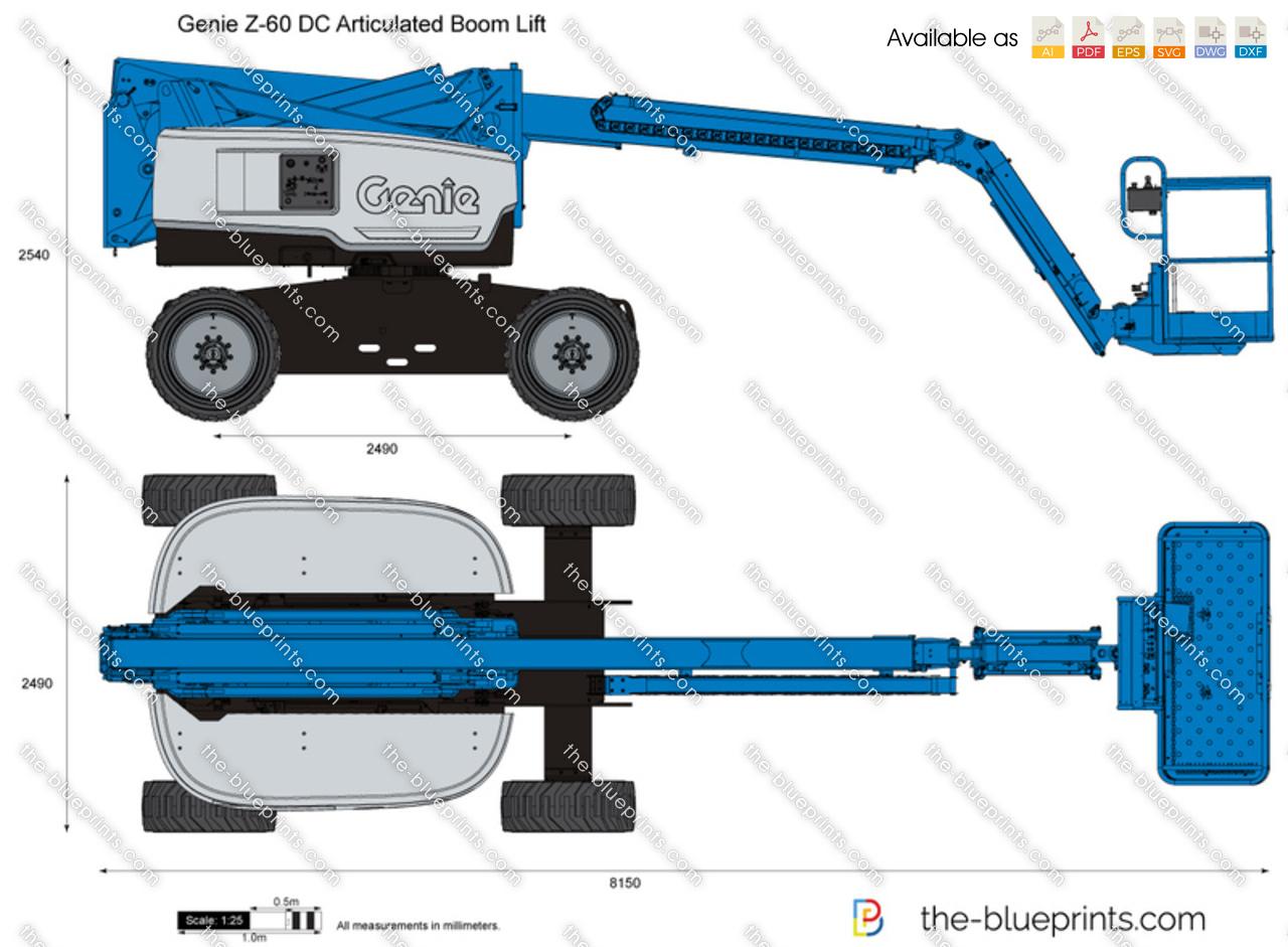 Genie Z-60 DC Articulated Boom Lift
