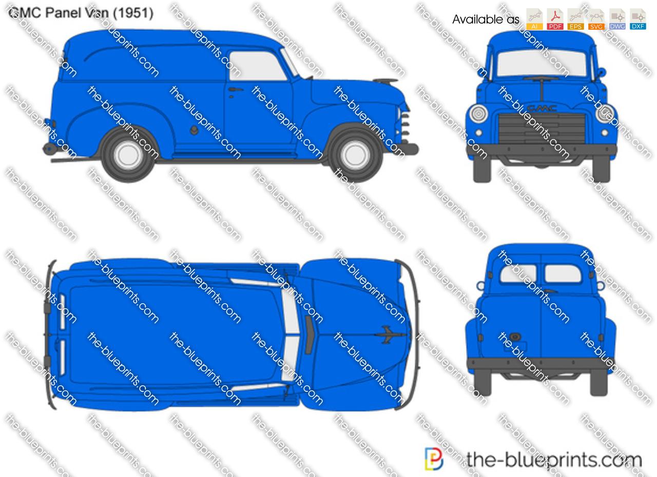 GMC Panel Van