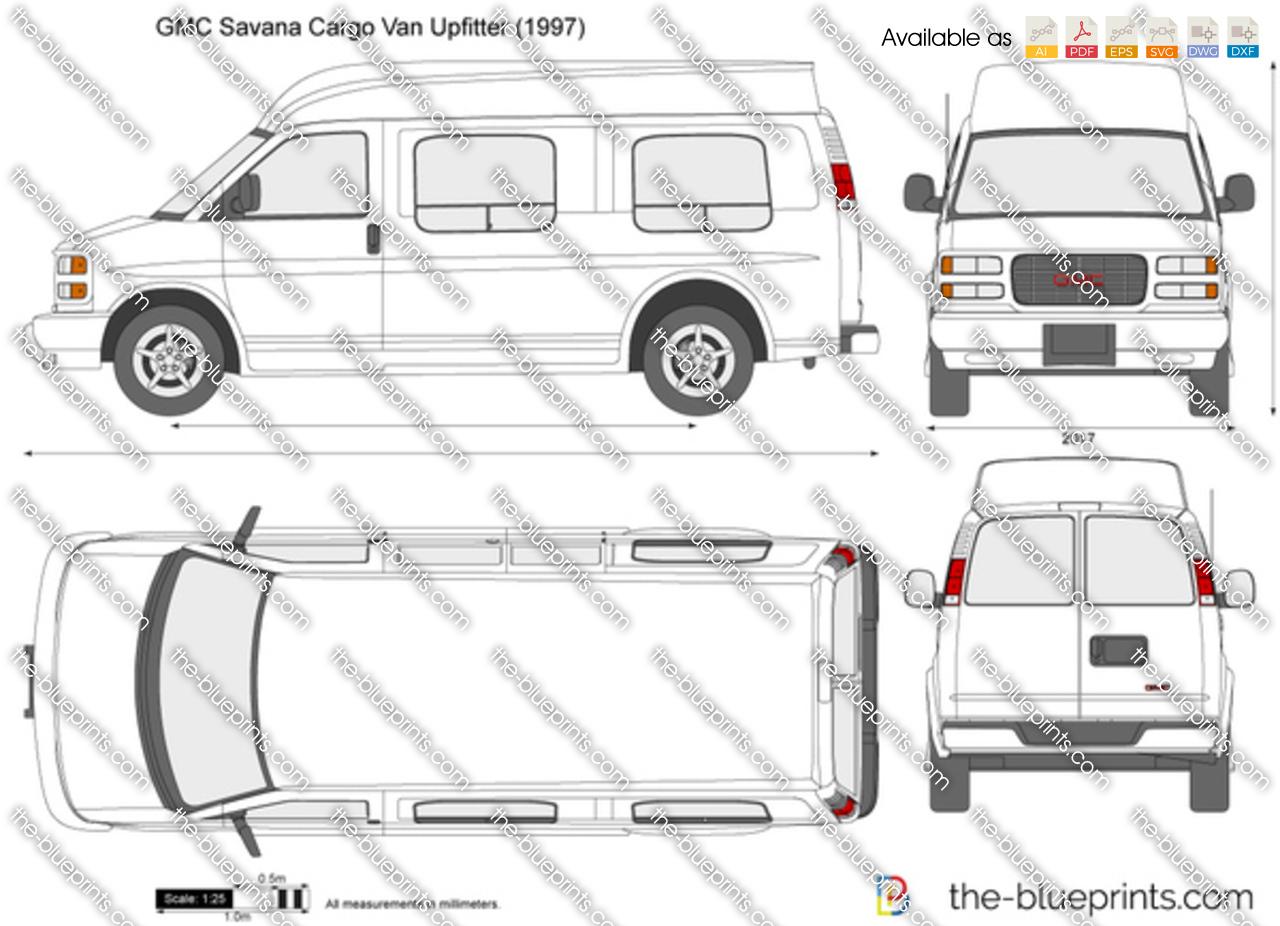 GMC Savana Cargo Van Upfitter