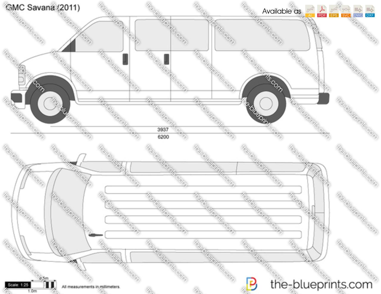 GMC Savana Extended Wheelbase