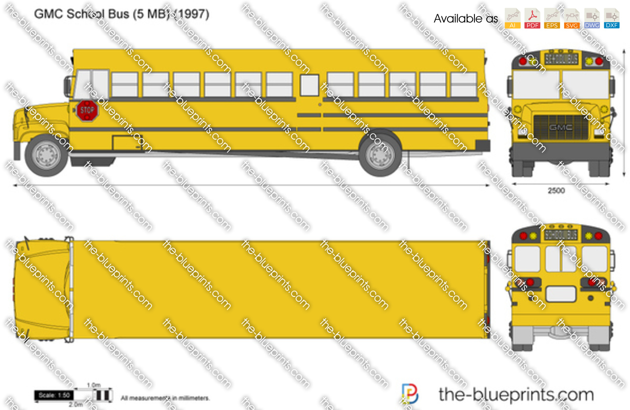 GMC School Bus (5 MB)