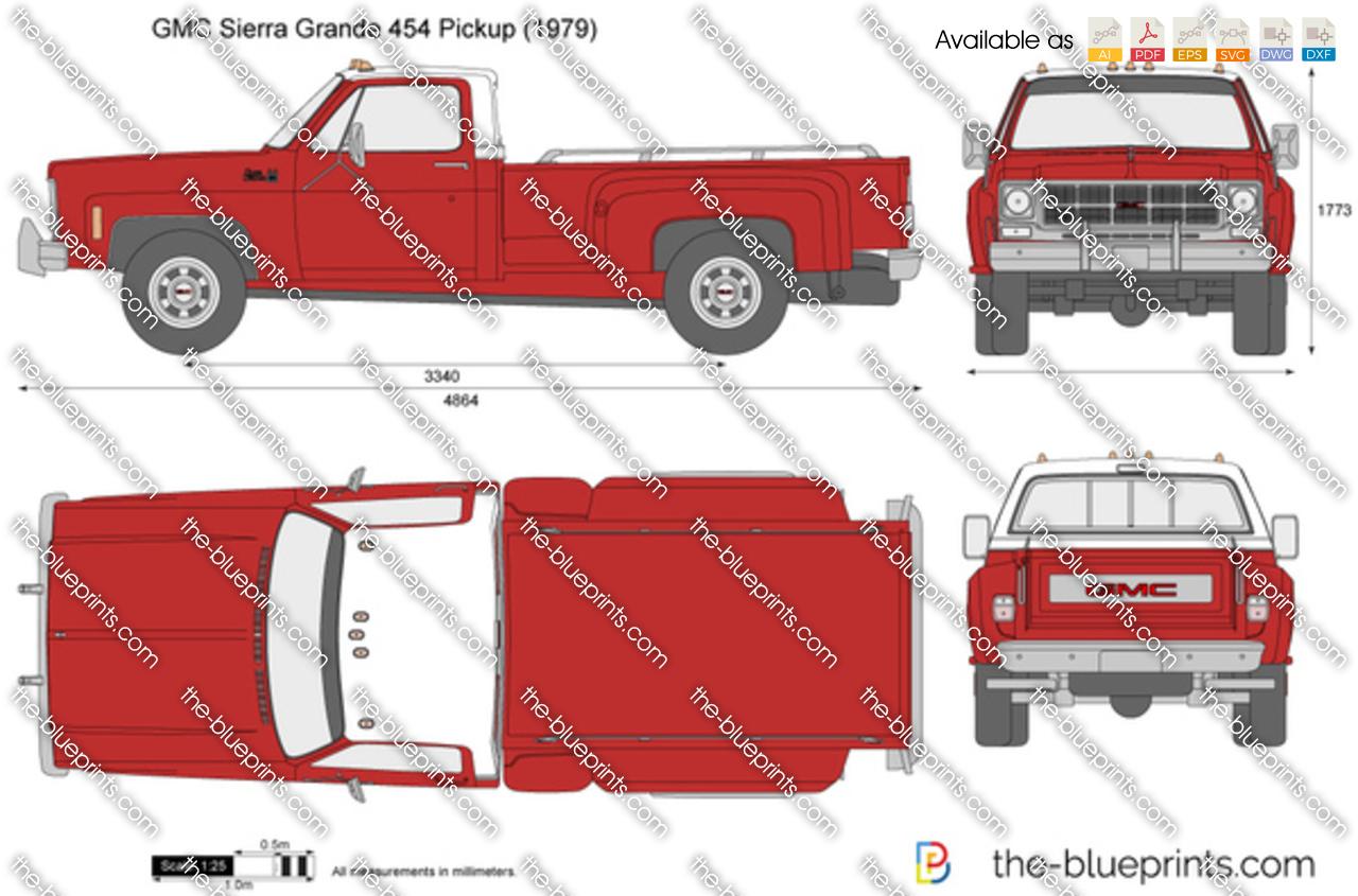 GMC Sierra Grande 454 Pickup