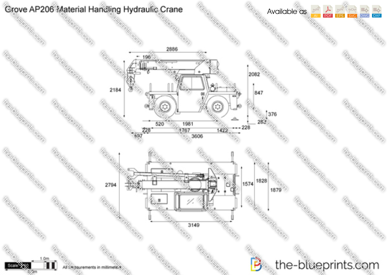 Grove AP206 Material Handling Hydraulic Crane