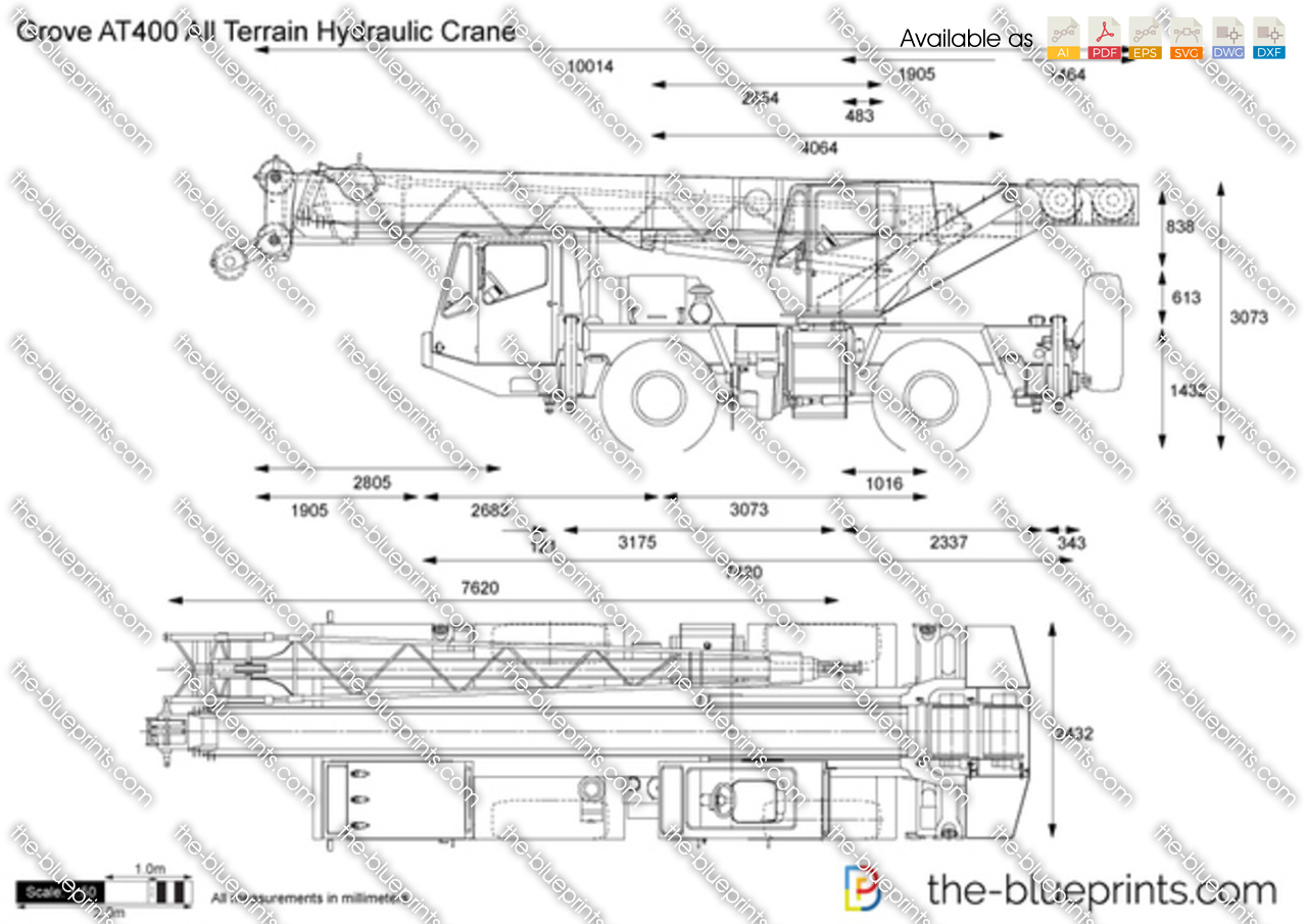 Grove AT400 All Terrain Hydraulic Crane