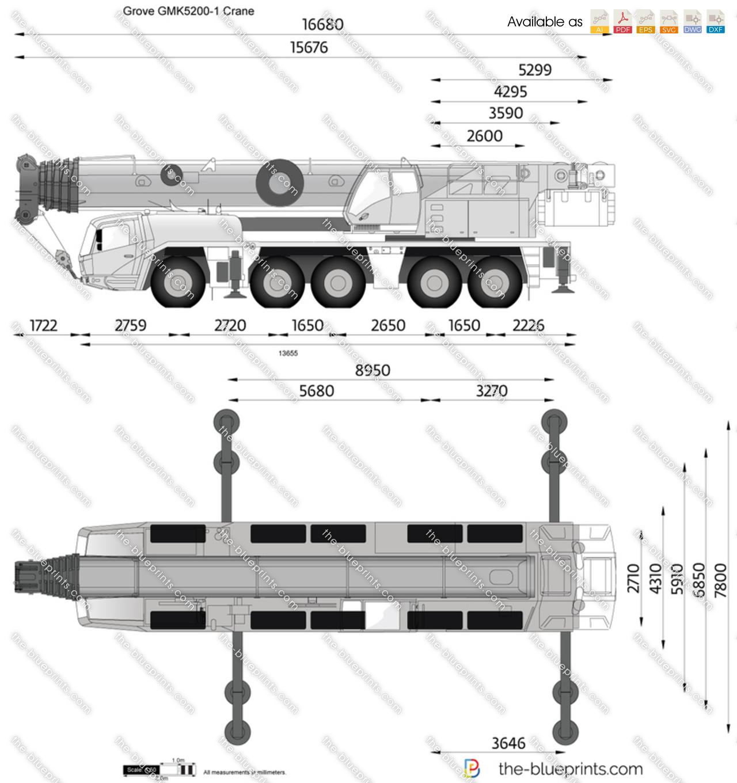 Grove GMK5200-1 Crane