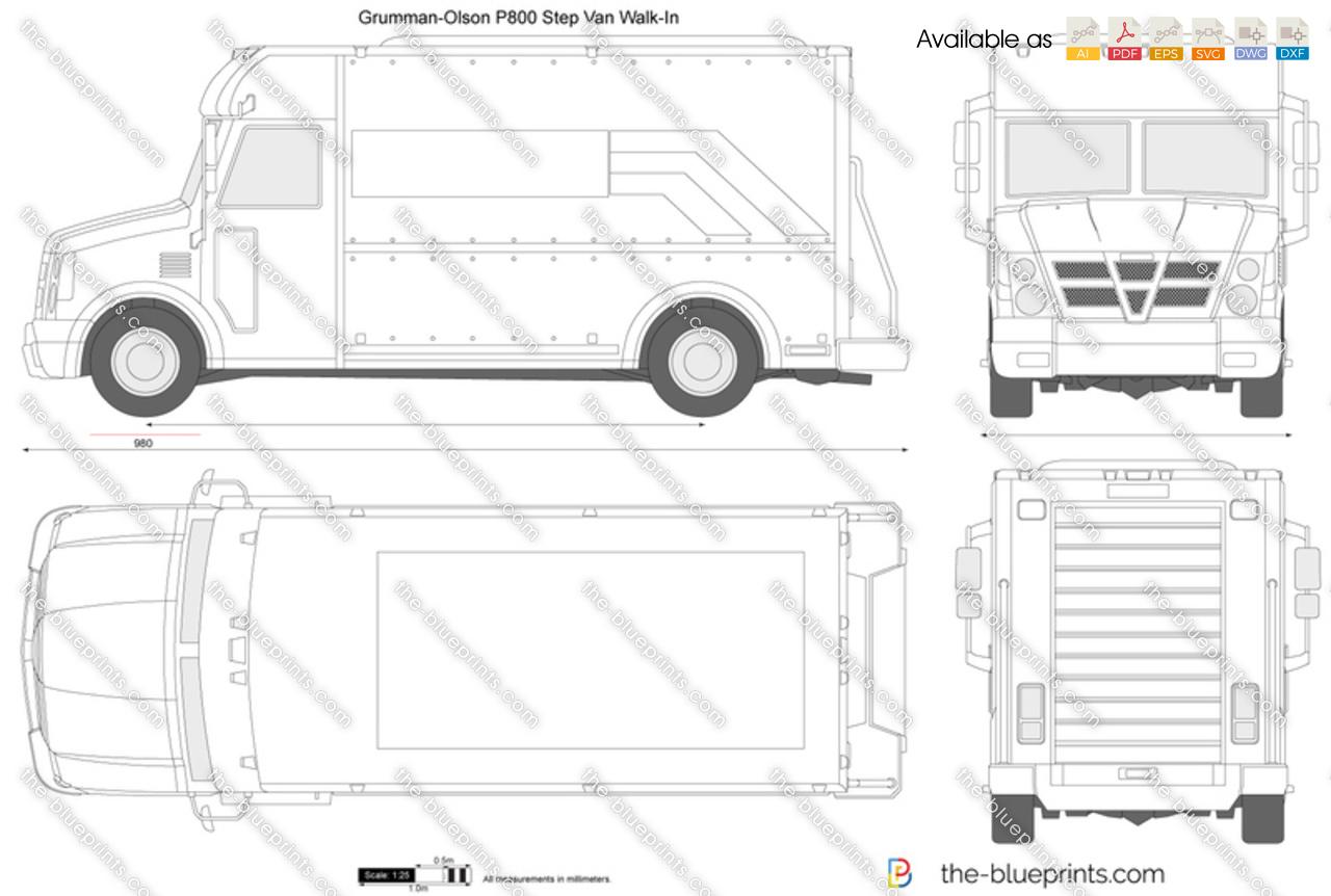 Grumman-Olson P800 Step Van
