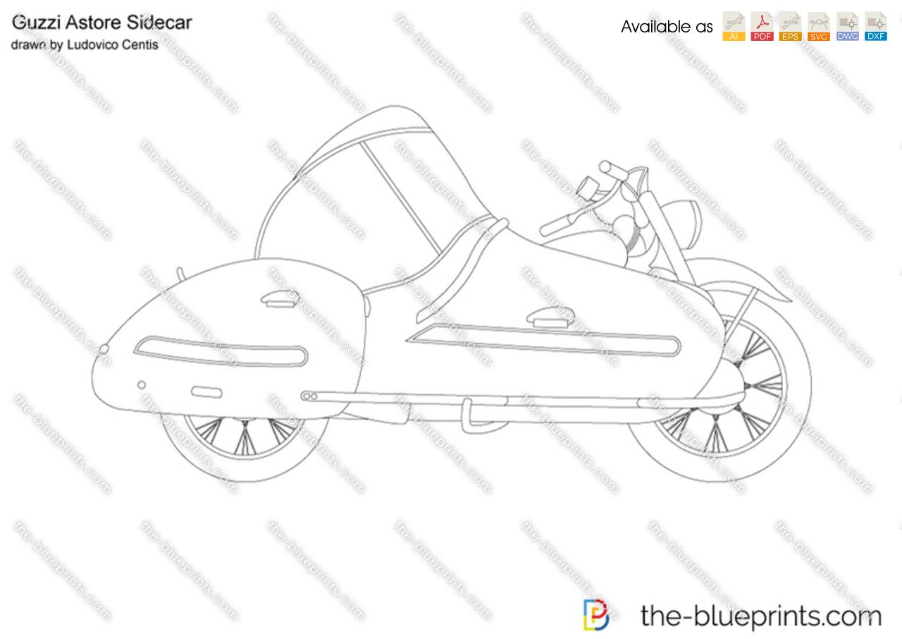 Guzzi Astore Sidecar
