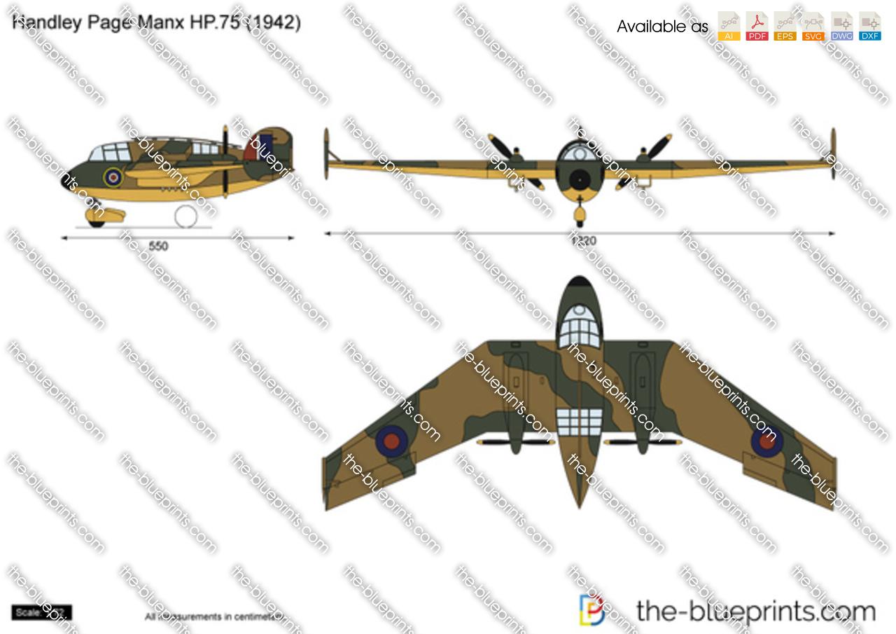 Handley Page Manx HP.75