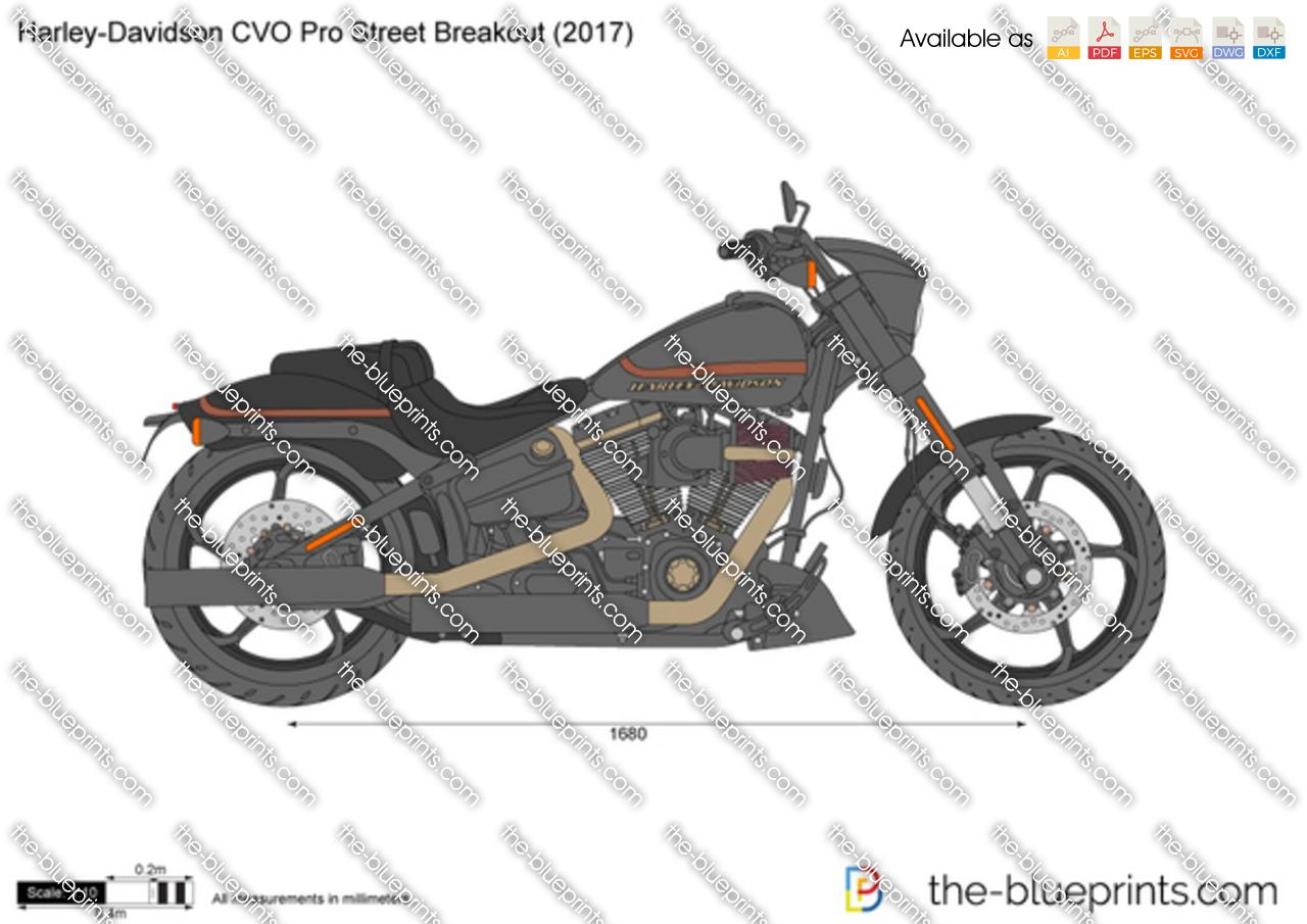Harley-Davidson CVO Pro Street Breakout 2018