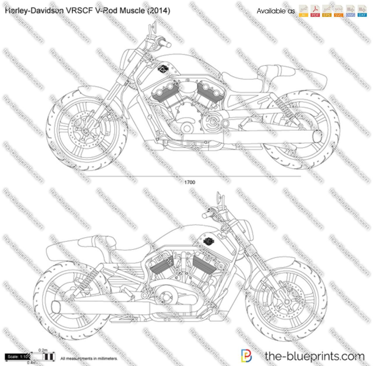 how to draw a harley davidson easy