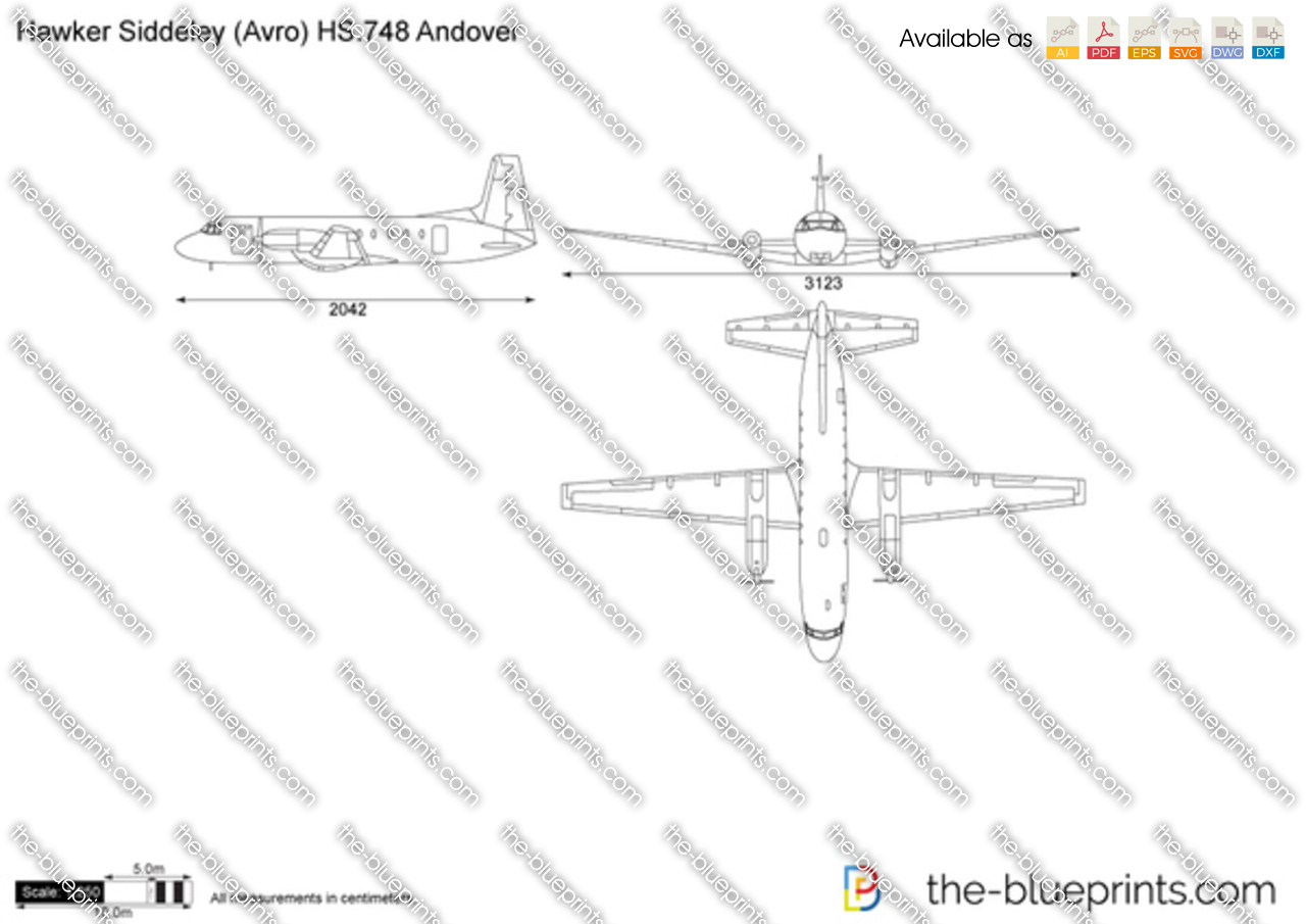 Hawker Siddeley (Avro) HS.748 Andover