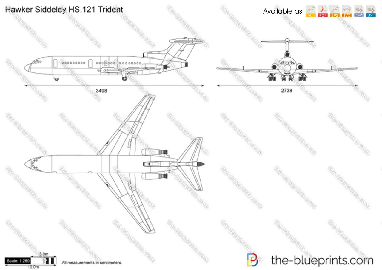 Hawker Siddeley HS.121 Trident