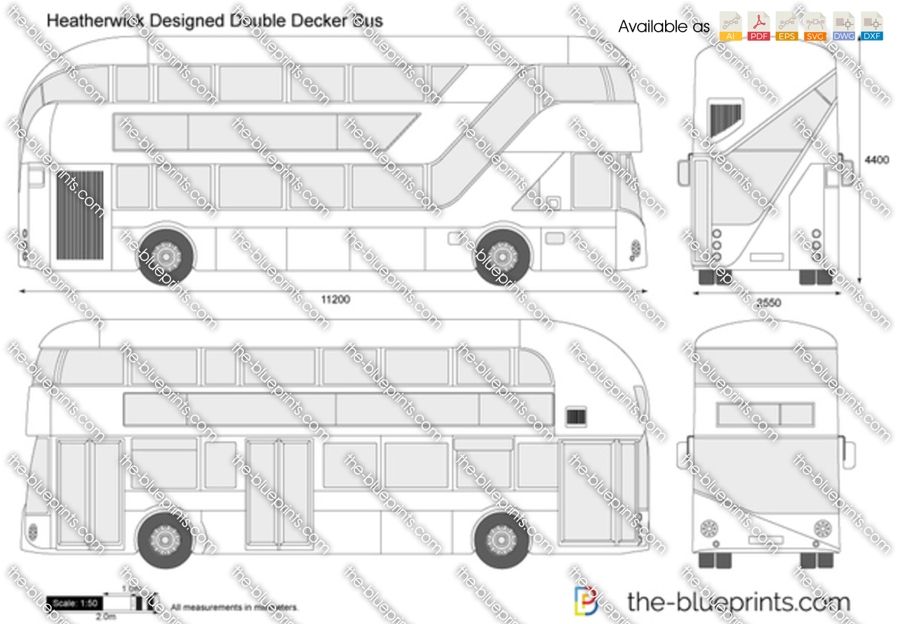 Heatherwick Designed Double Decker Bus