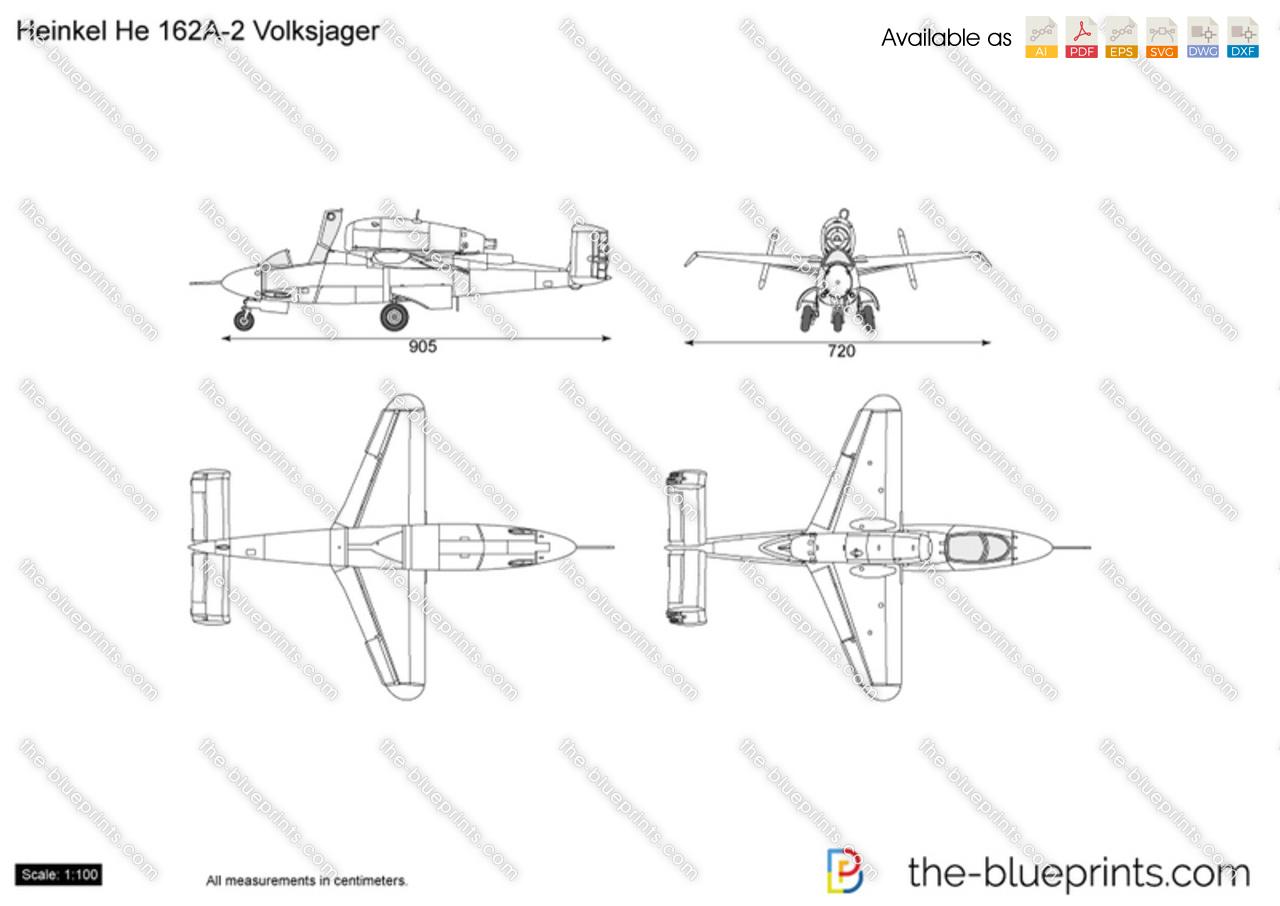 Heinkel He 162A-2 Volksjager