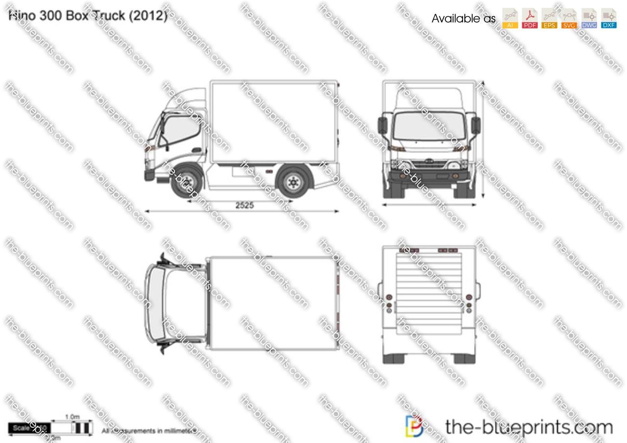 Hino 300 Box Truck