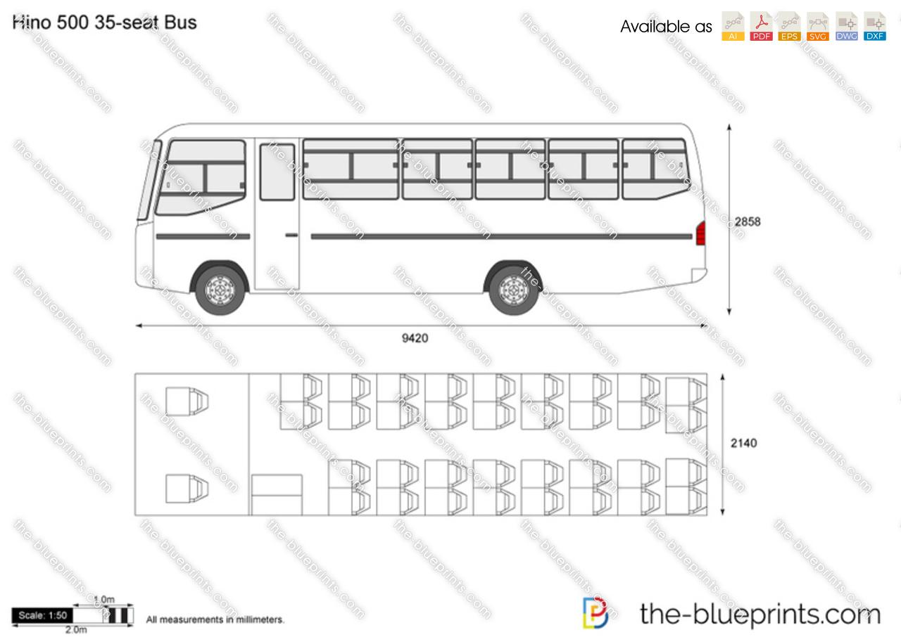 Hino 500 35-seat Bus