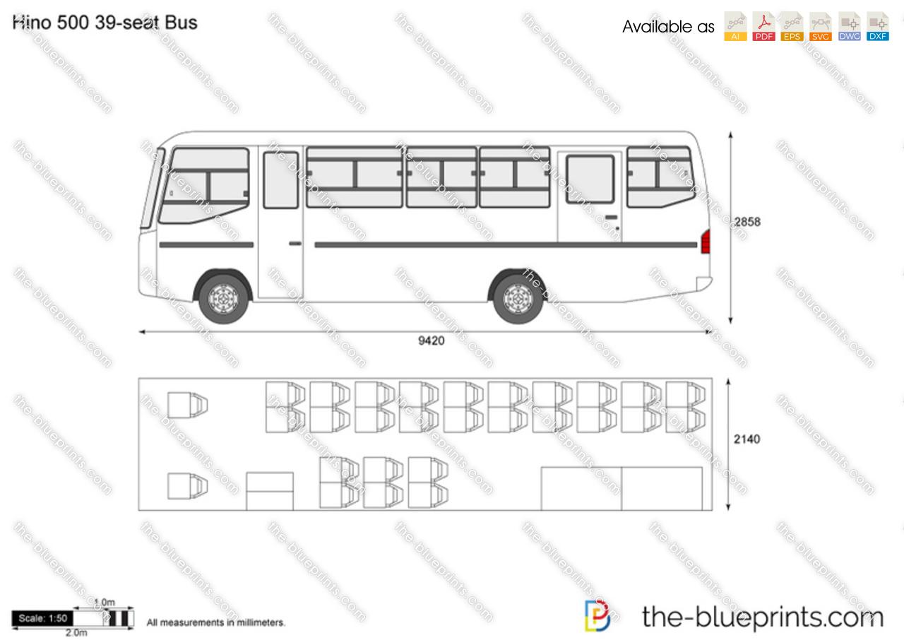 Hino 500 39-seat Bus