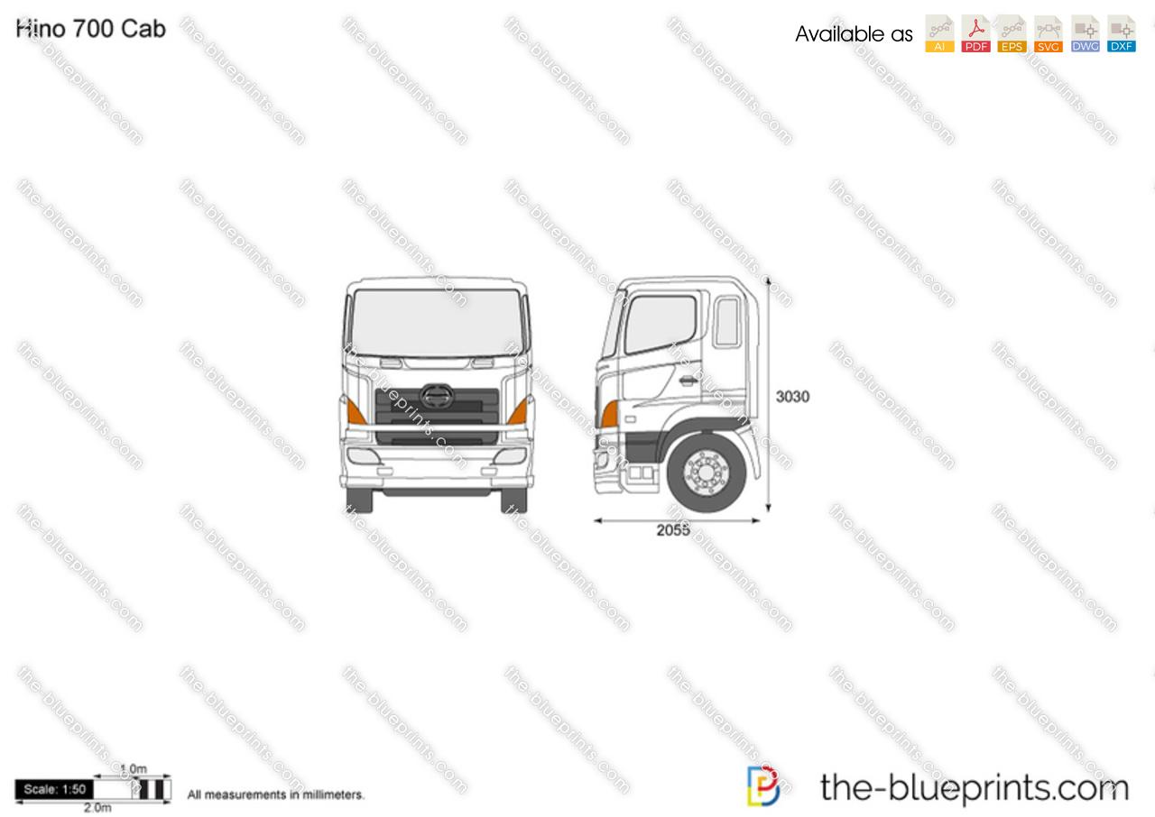 Hino 700 Cab