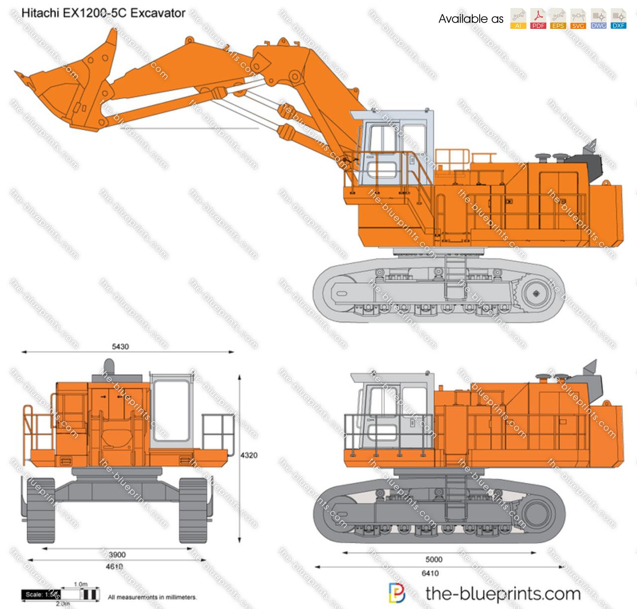 Hitachi EX1200-5C Excavator