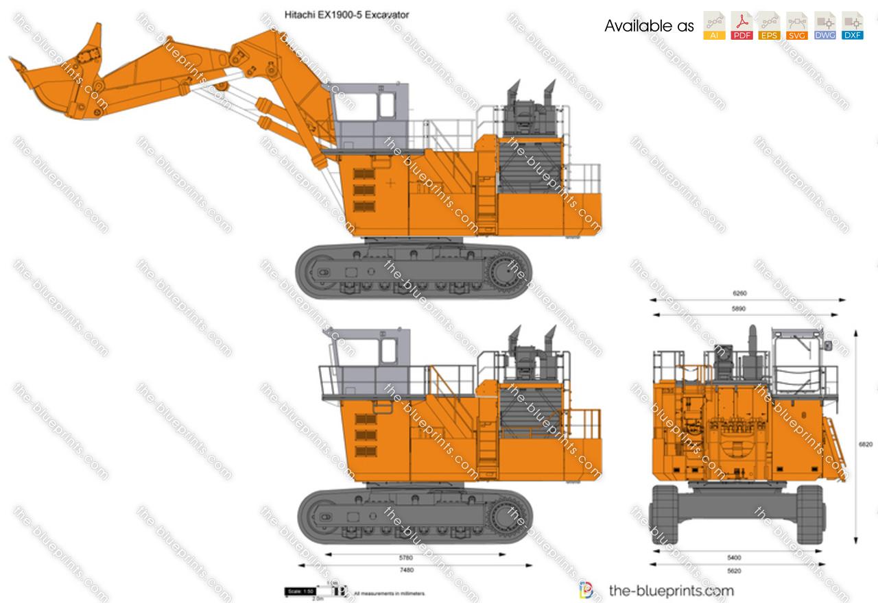 Hitachi EX1900-5 Excavator