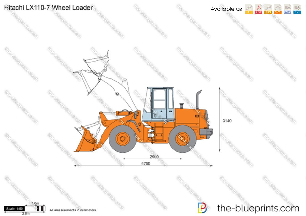 Hitachi LX110-7 Wheel Loader