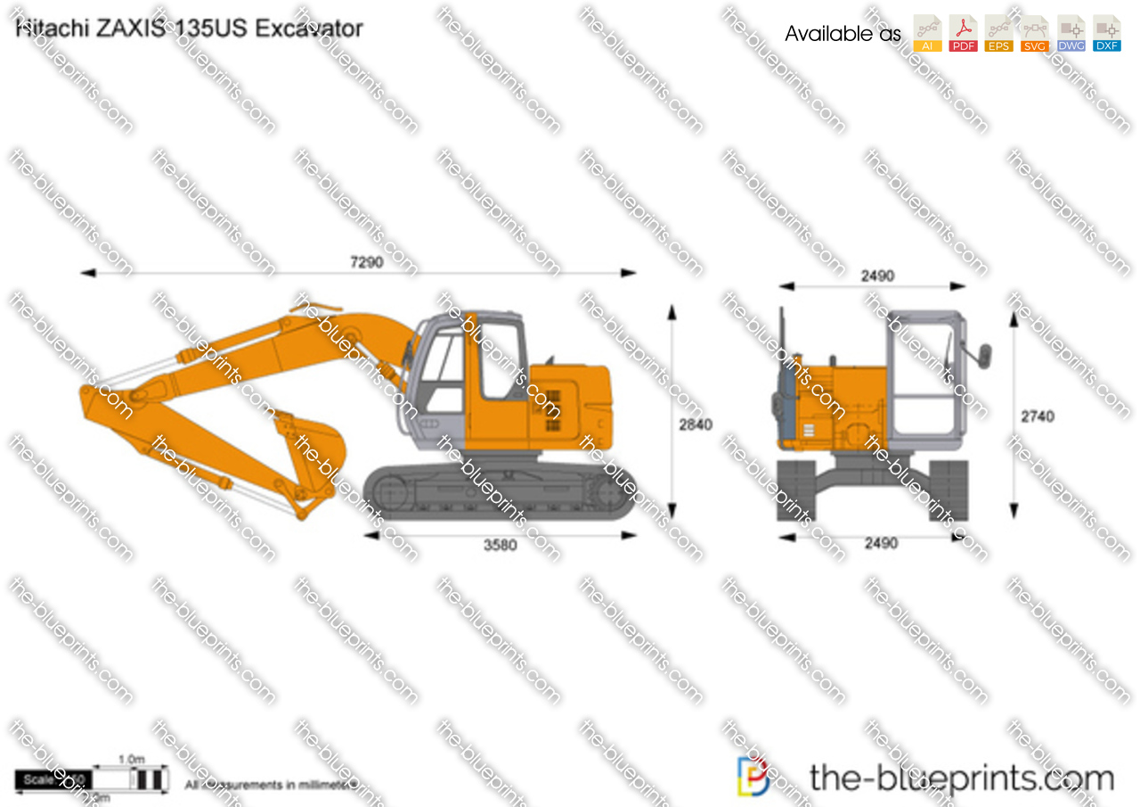 Hitachi ZAXIS 135US Excavator