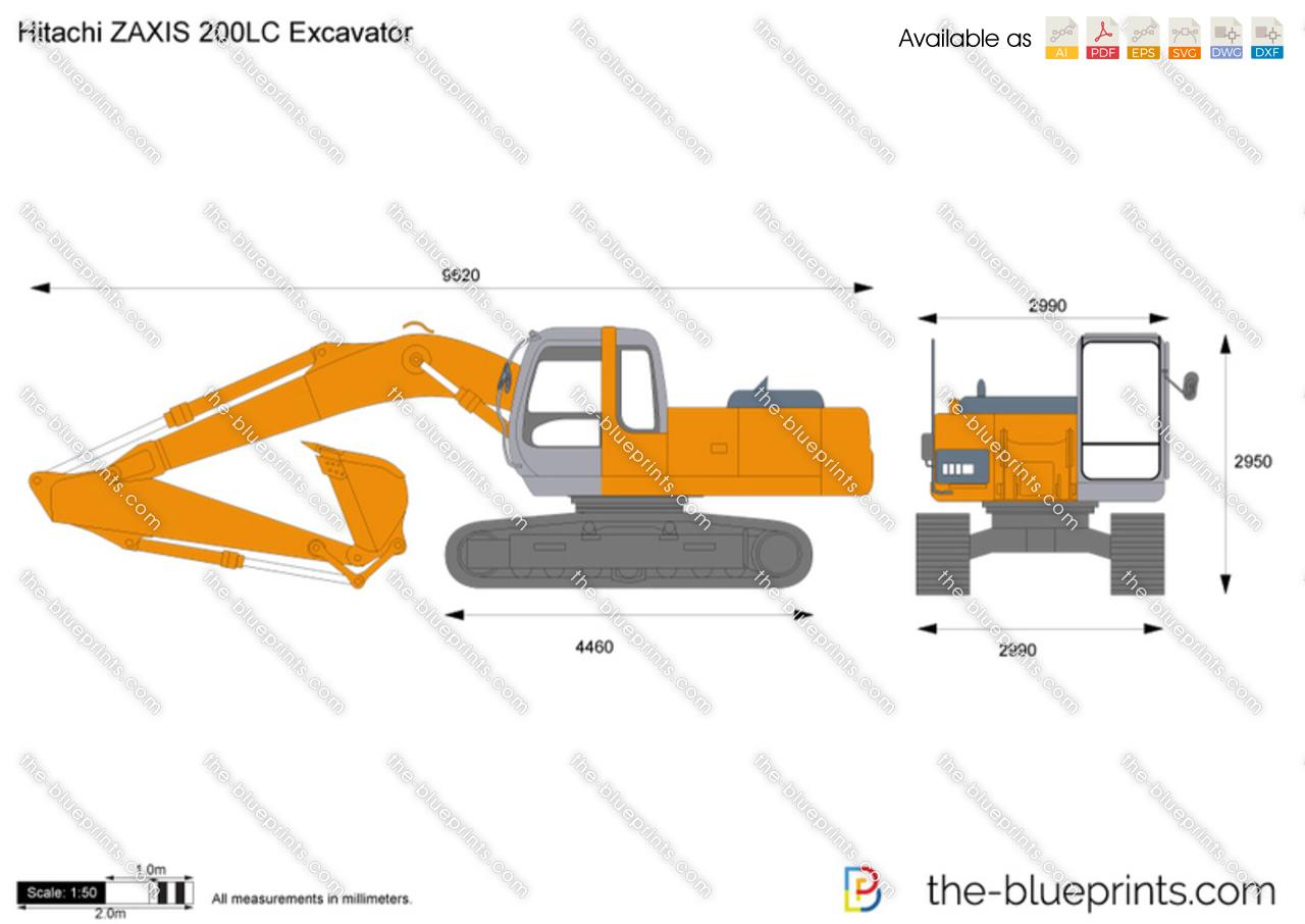 Hitachi ZAXIS 200LC Excavator