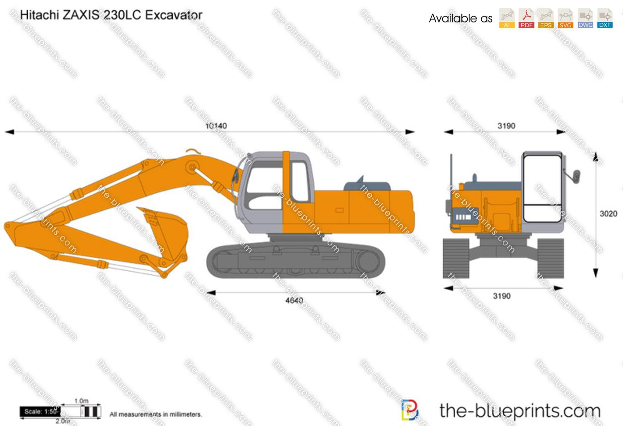 Hitachi ZAXIS 230LC Excavator