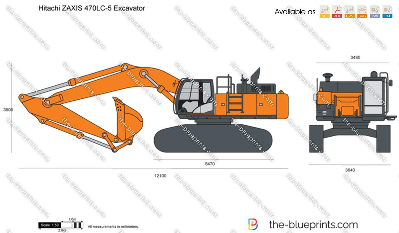 Hitachi ZAXIS 470LC-5 Excavator