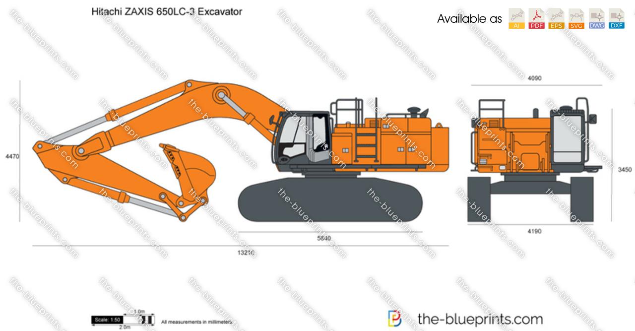 Hitachi ZAXIS 650LC-3 Excavator