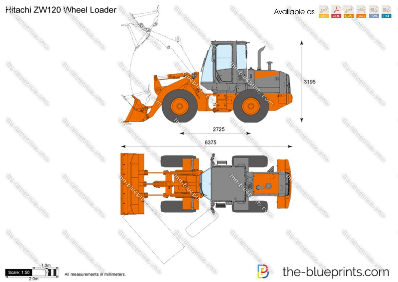 Hitachi ZW120 Wheel Loader