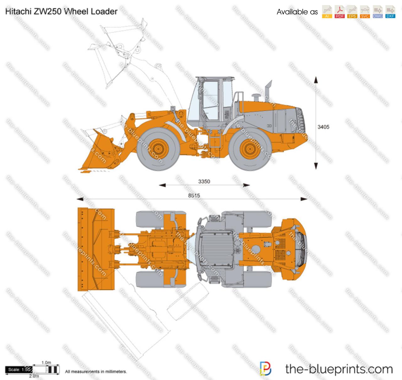 Hitachi ZW250 Wheel Loader