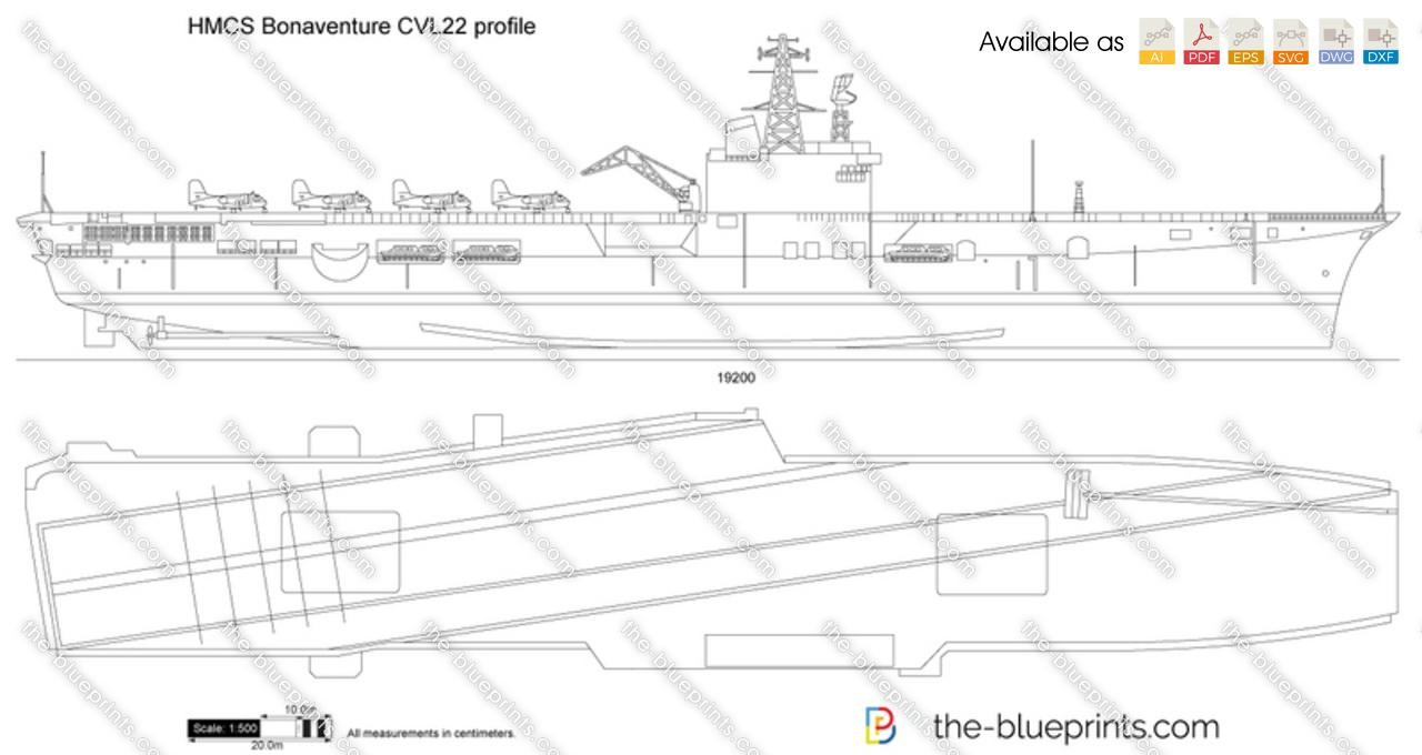HMCS Bonaventure CVL22 profile