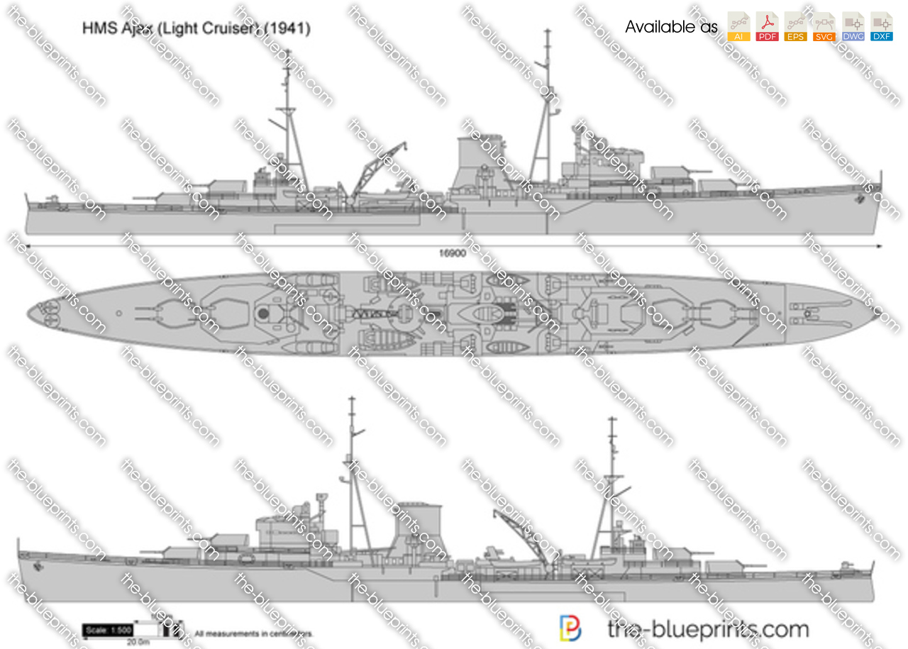 HMS Ajax (Light Cruiser)