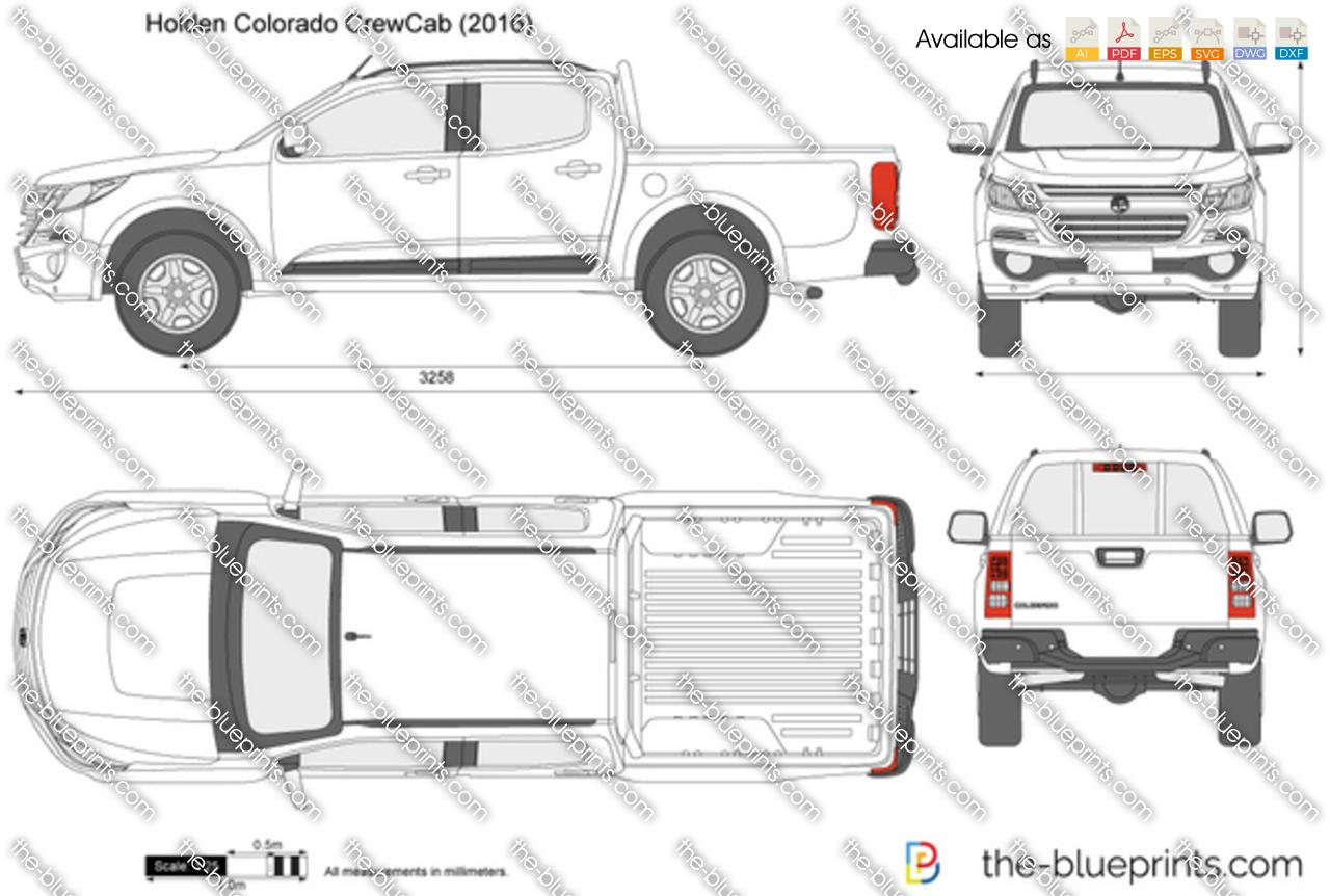 Holden Colorado CrewCab 2018