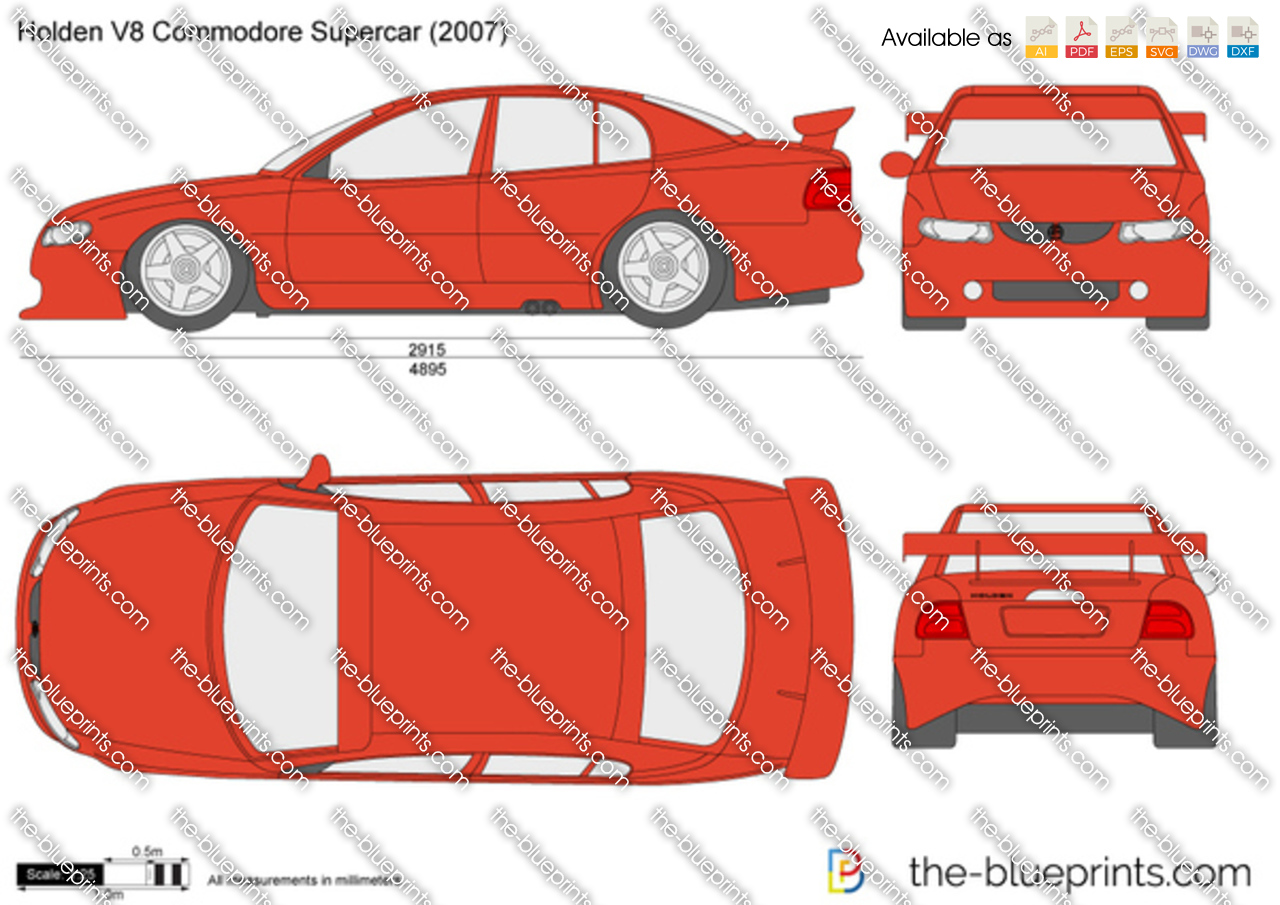 The Blueprints Com Blueprints Cars Holden Holden