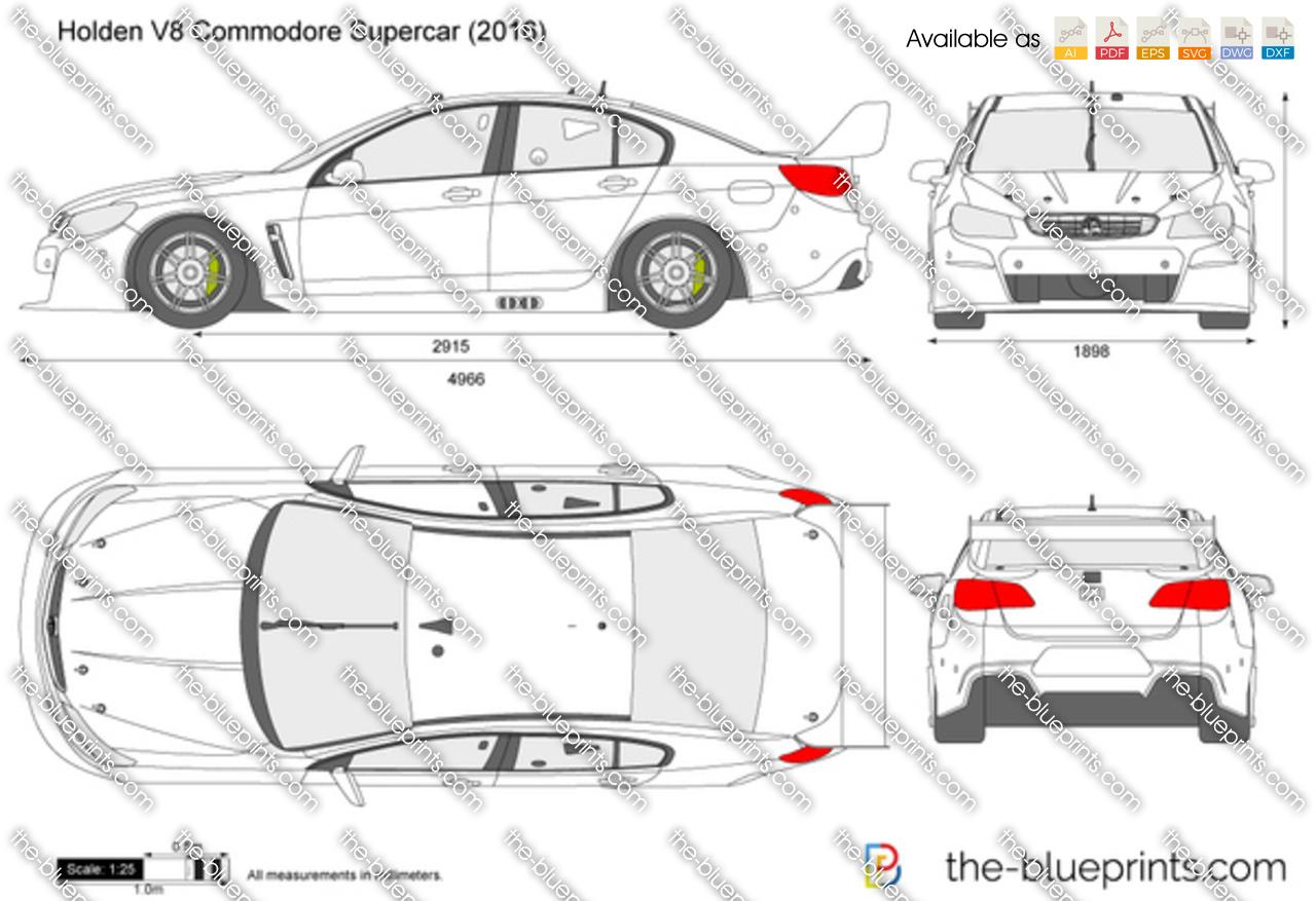 Holden V8 Commodore Supercar