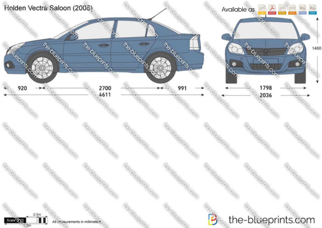 Holden Vectra Saloon