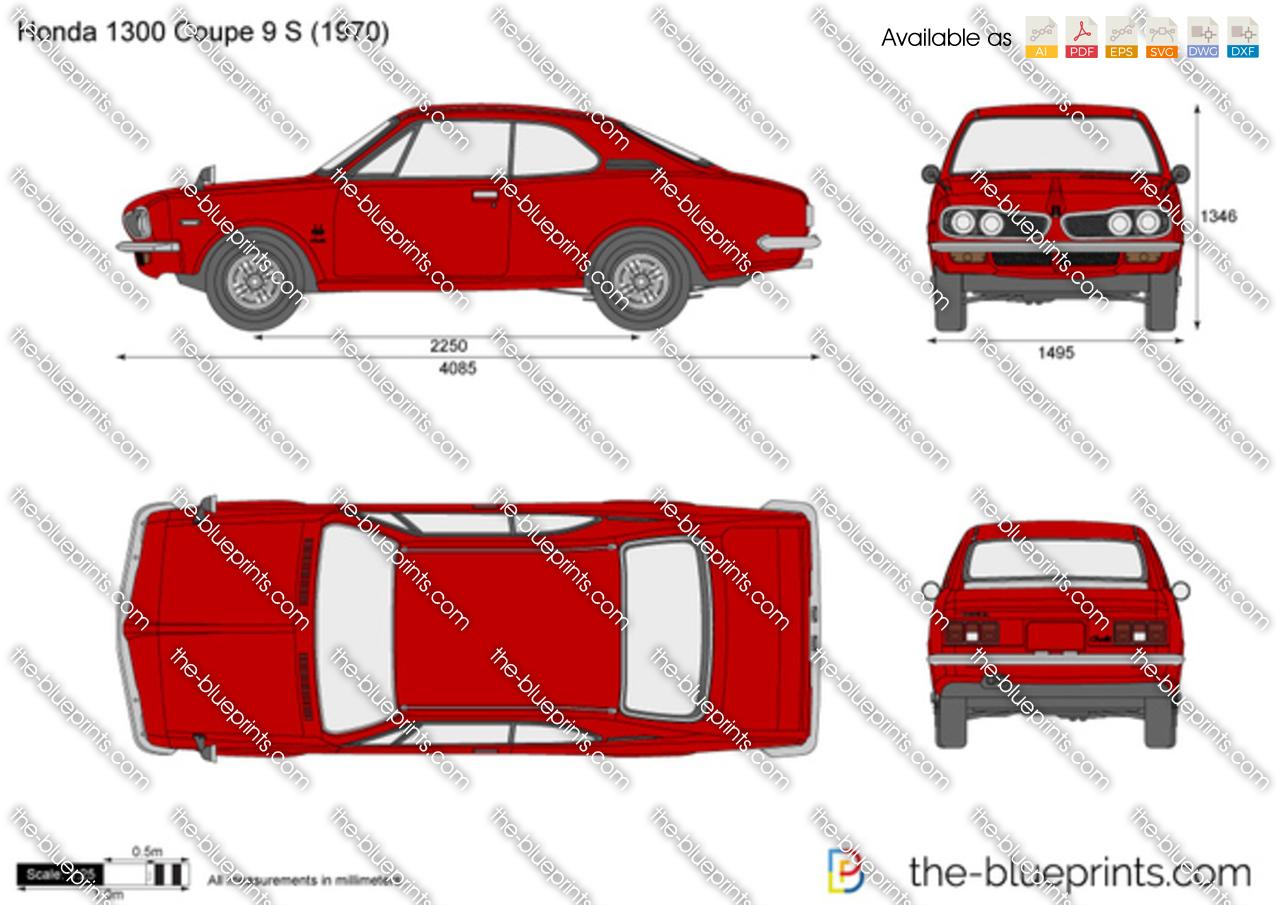 Honda 1300 Coupe 9 S