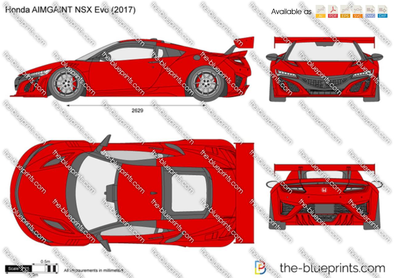 Honda AIMGAINT NSX Evo