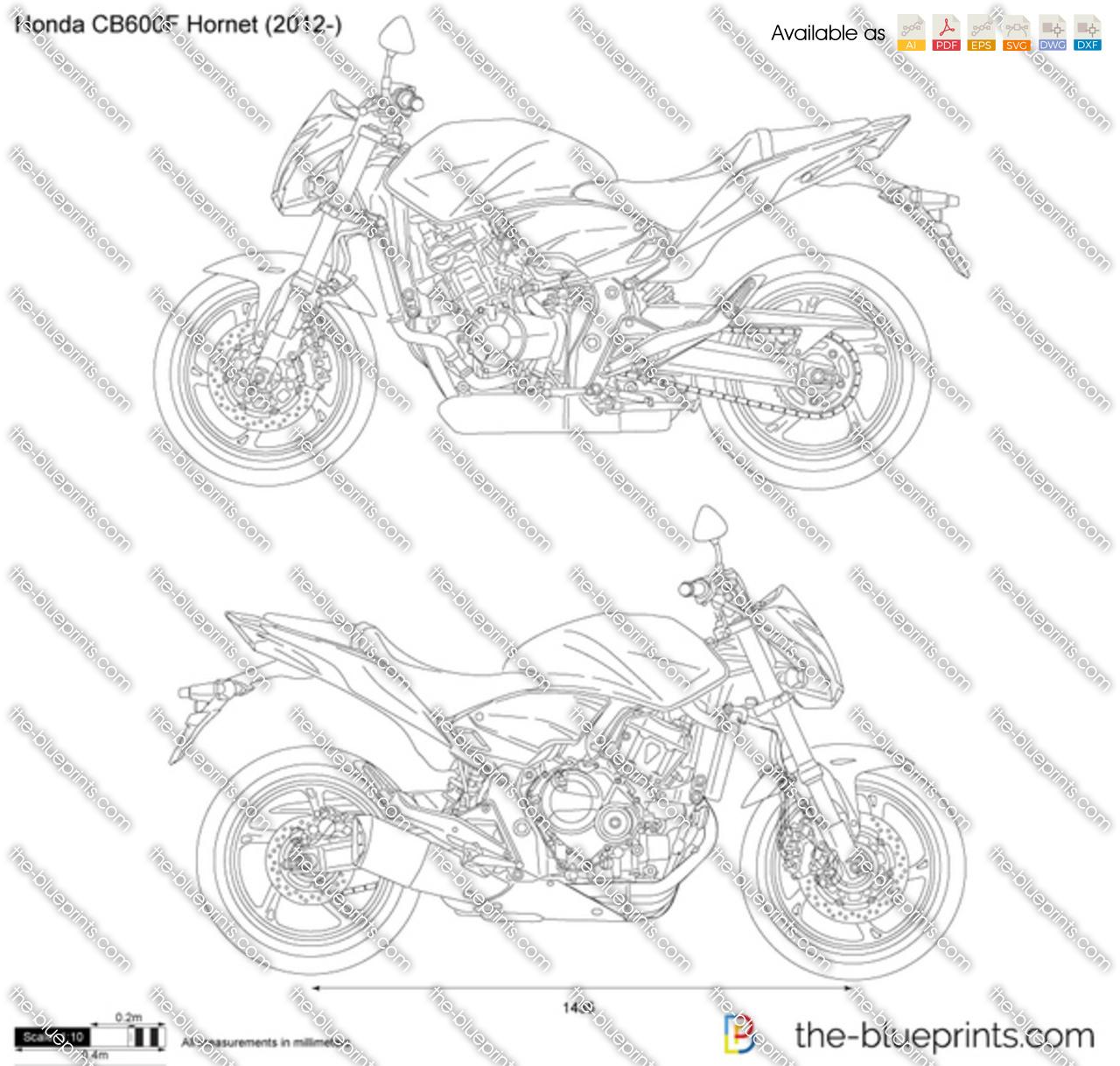 Honda CB600F Hornet 2018