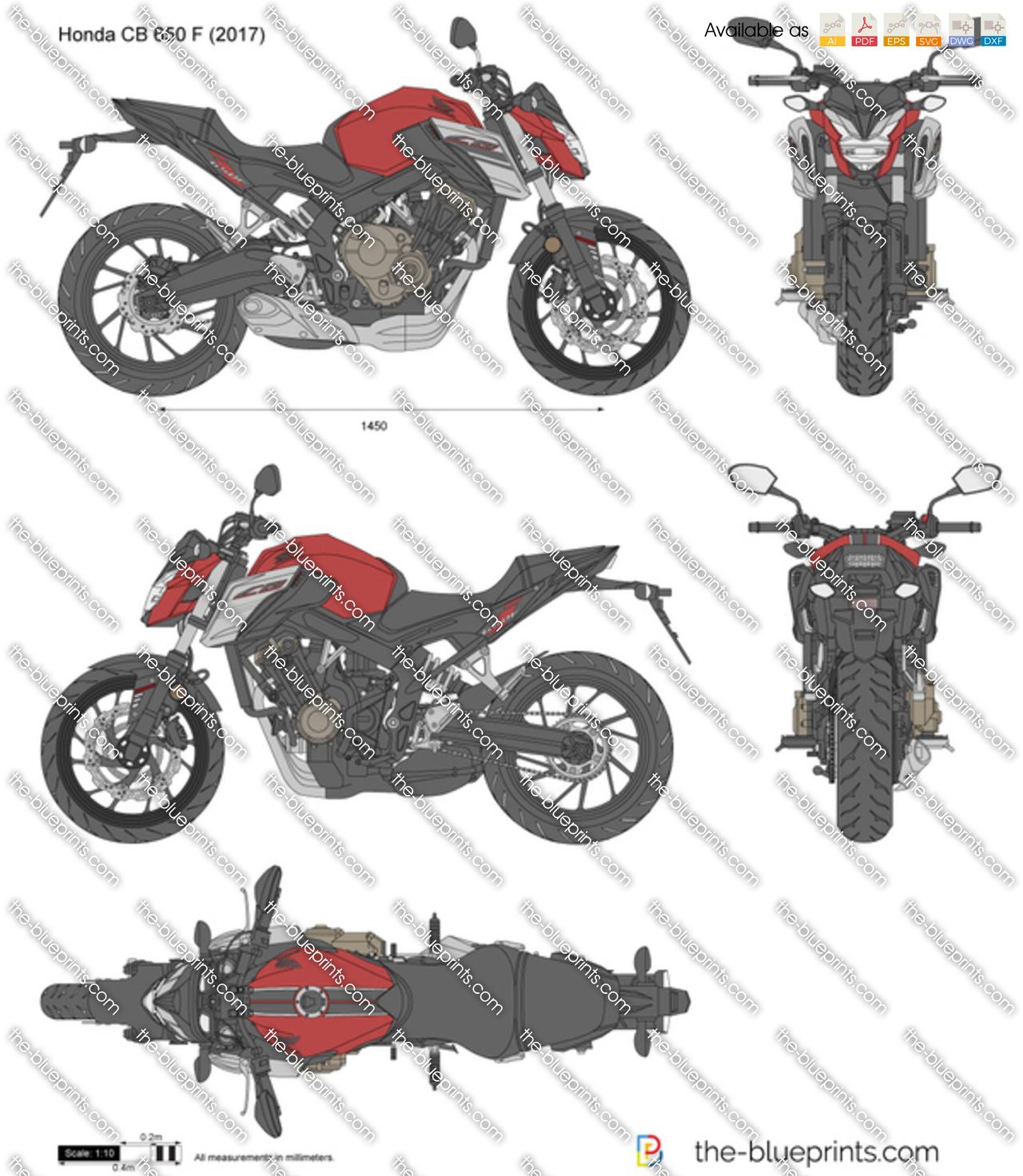 Honda CB 650 F 2018