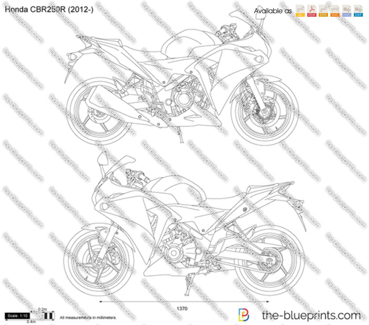Honda CBR250R 2013