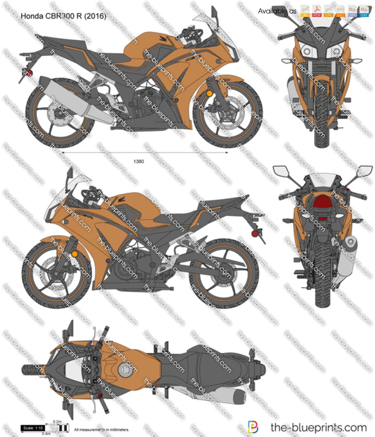 Honda CBR300 R 2017