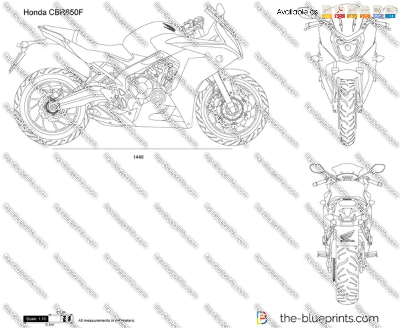 Honda CBR650F 2019