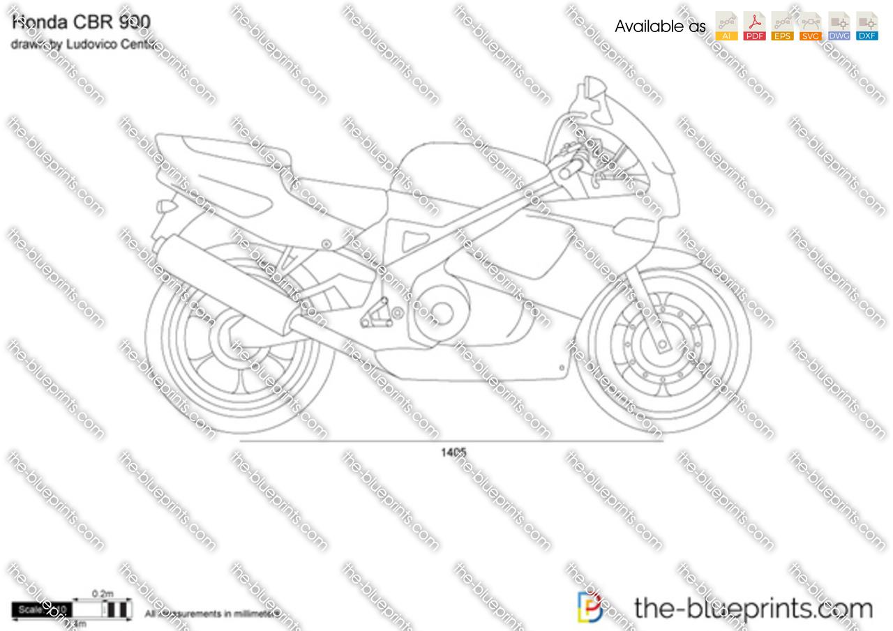 Honda CBR 900 1996