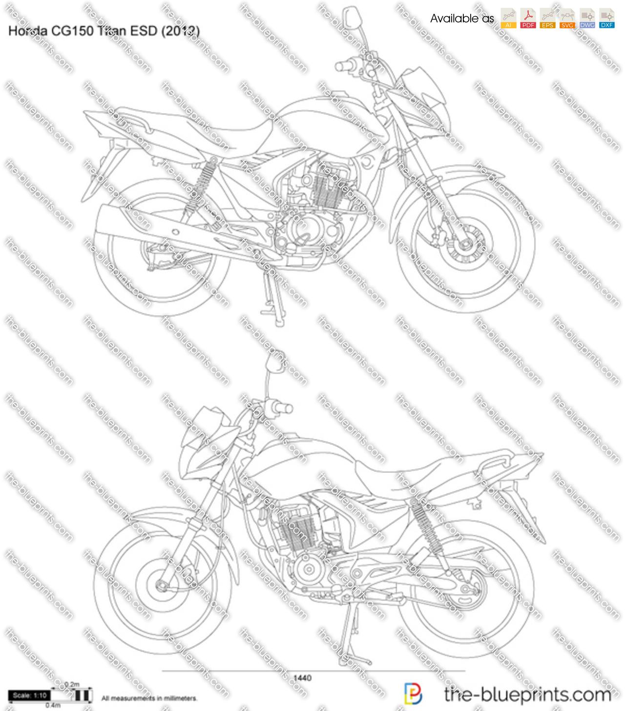 Honda CG150 Titan ESD