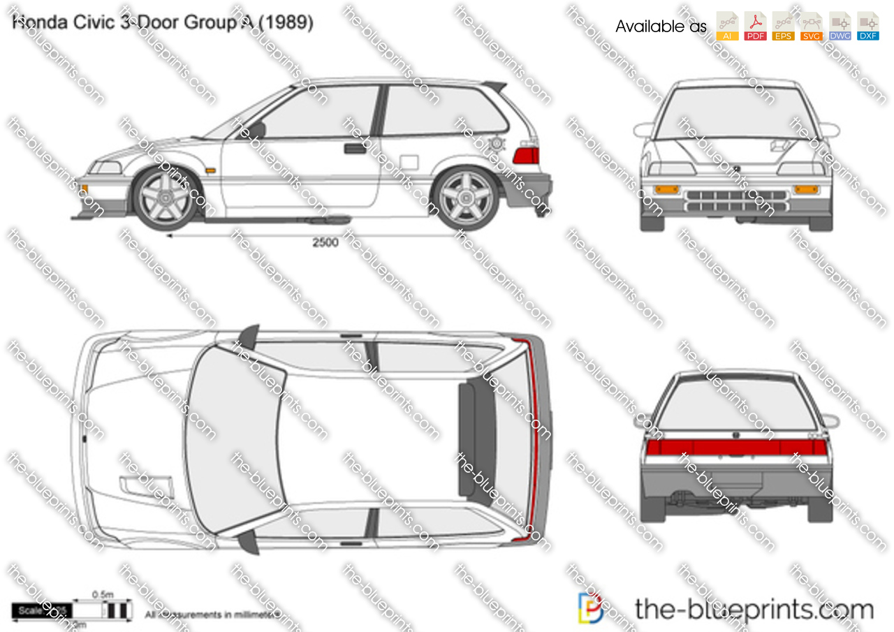 Honda Civic 3-Door Group A ED