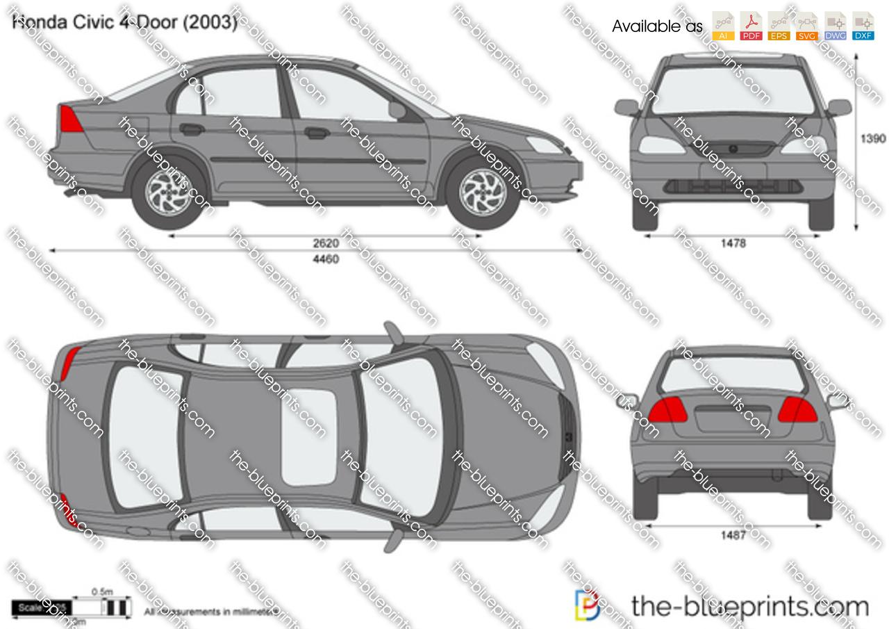 Honda Civic 4-Door 2002